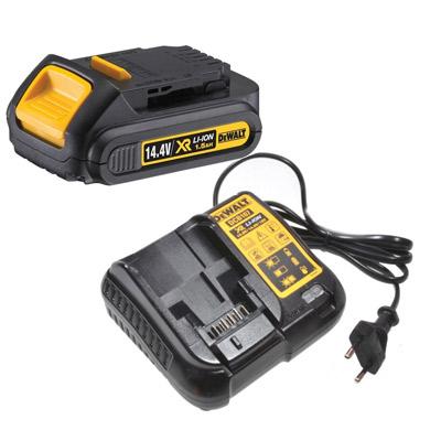 Аккумуляторы и зарядные устройства DeWalt