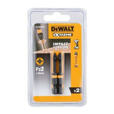 Биты DeWalt IMPACT Torsion ударные Pz2 DT70531T-QZ