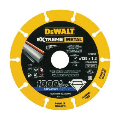 Диск алмазный отрезной по металлу DT40252-QZ